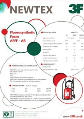 Newtext foam safety data sheet